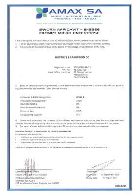 hoppies-braai-wood-bee-certificate