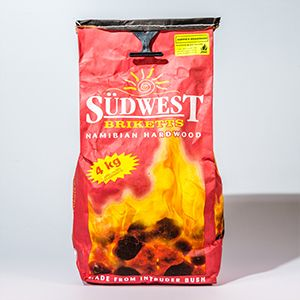 Sudwest Briquettes Sudwest is an outstanding brikett that will give you a long lasting braai.