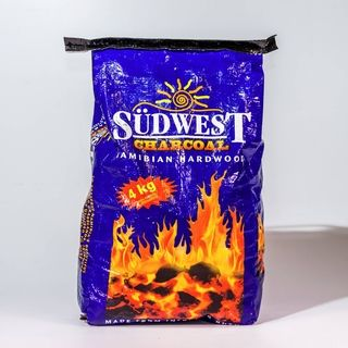 Sudwest Charcoal A quality lump wood charcoal that is made up of intruder bush, preserving Namibia's savannah.